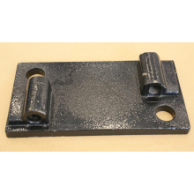 Railroad ribbed Tie Plate